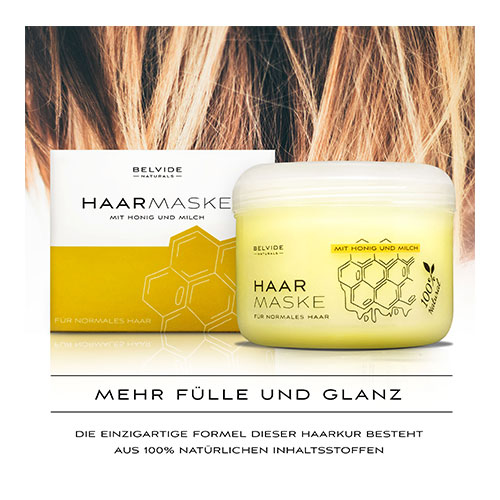vital hair haarpflege set mit bio teebaum shampoo manuka honig kur. Black Bedroom Furniture Sets. Home Design Ideas